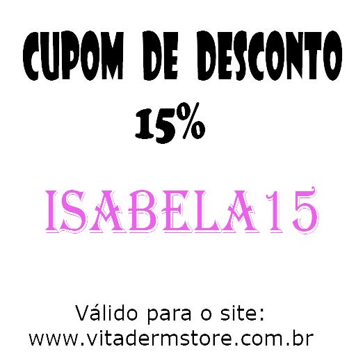 CUPOM DE DESCONTO VITADERM